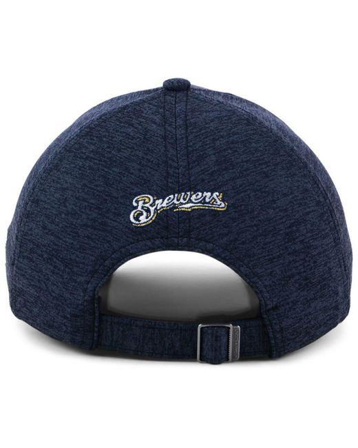 2089ed7d012 ... Under Armour - Blue Milwaukee Brewers Renegade Twist Cap - Lyst