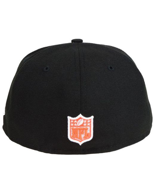 finest selection finest selection beauty KTZ Synthetic Cincinnati Bengals Team Basic 59fifty Fitted Cap in ...