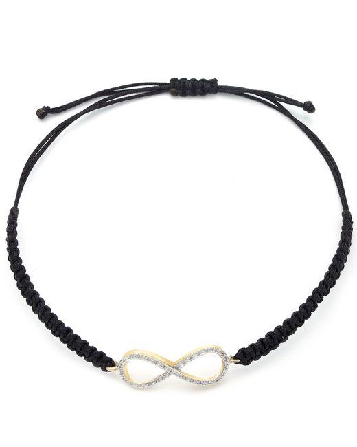 Wrapped in Love   Brown Diamond Bracelet, Diamond Infinity Parachute Cord Bracelet (1/6 Ct. T.w.)   Lyst