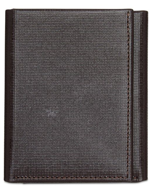 Perry Ellis | Brown Men's Portfolio Saffiano Rfid Trifold Wallet for Men | Lyst