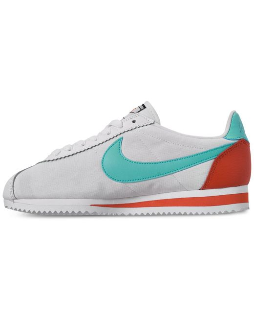 the latest 71591 80dcc Women's Classic Cortez Premium Casual Sneakers From Finish Line