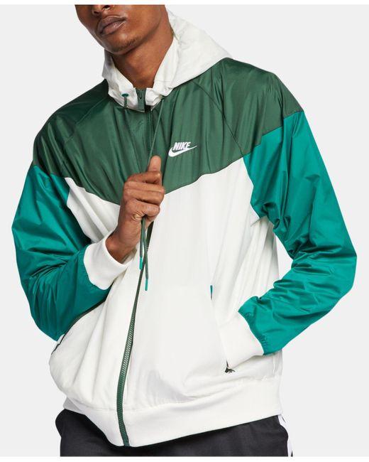 Nike - Green Sportswear Windrunner Jacket for Men - Lyst