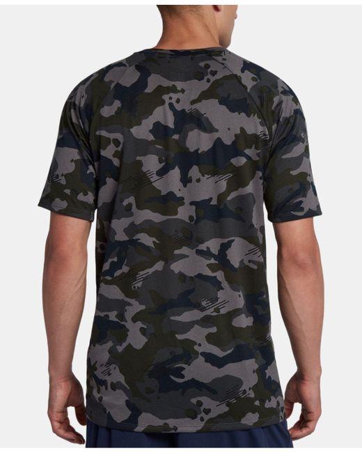 8173e2e71a34 ... Nike - Gray Big   Tall Dry Legend Camo Short-sleeve Training Tee for  Men ...