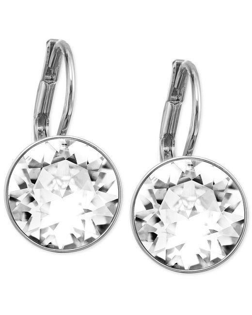 Swarovski | Metallic Earrings Crystal Drop Earrings | Lyst