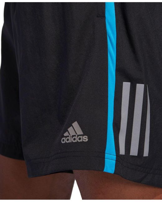 half off f9c8e ceaee Men's Black Climacool® Running Shorts