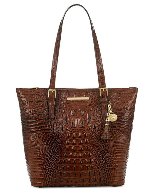 Brahmin - Brown Melbourne Asher Tote - Lyst