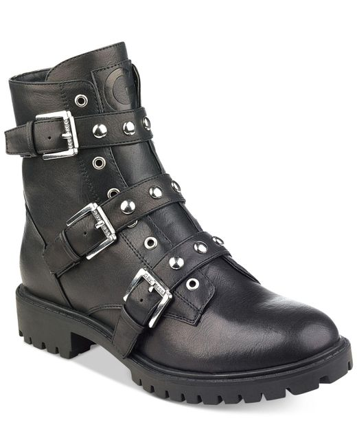 G by Guess | Black Prez Boots | Lyst