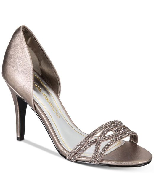 Caparros - Metallic Irina Embellished Evening Sandals - Lyst