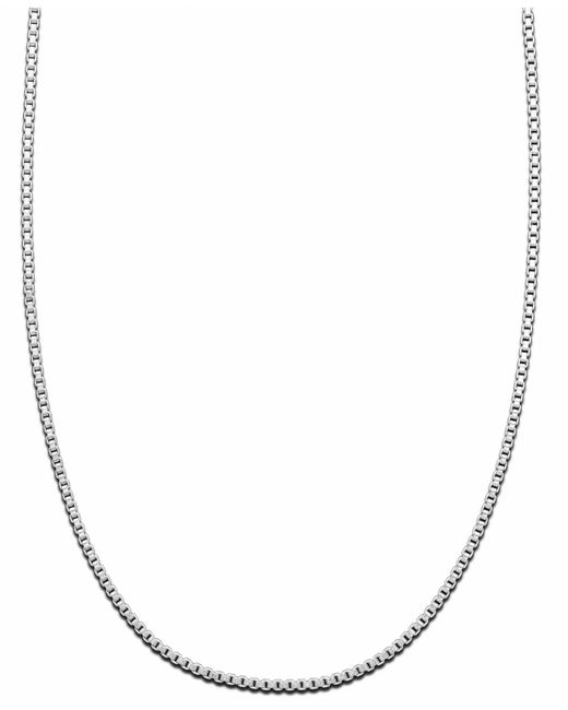 Giani Bernini Metallic Sterling Silver Necklace, Link Chain