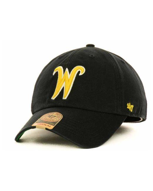 47 Brand | Black Wichita State Shockers Ncaa '47 Franchise Cap for Men | Lyst
