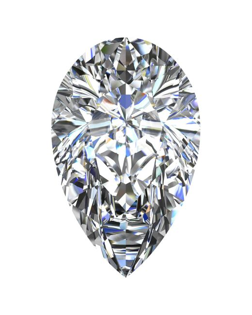 Macy's   Multicolor Gia Certified Diamond Pear (1/2 Ct. T.w.)   Lyst