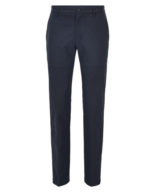 BOSS Blue Slim-fit Technical Twill Golf Pants for men