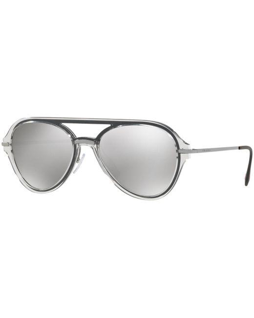 9ce665093453 Prada - Metallic Sunglasses