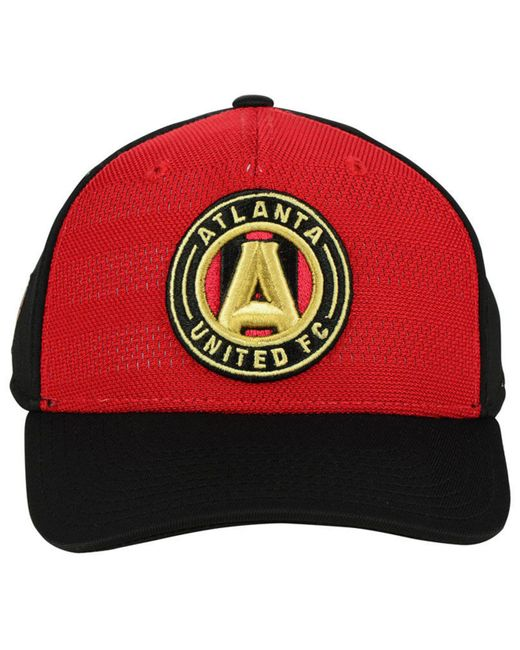 best website b74c3 1f3b0 ... Adidas - Black Atlanta United Fc Authentic Flex Cap for Men - Lyst ...