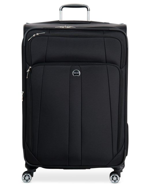 "Delsey | Black Helium Breeze 5.0 29"" Spinner Suitcase for Men 