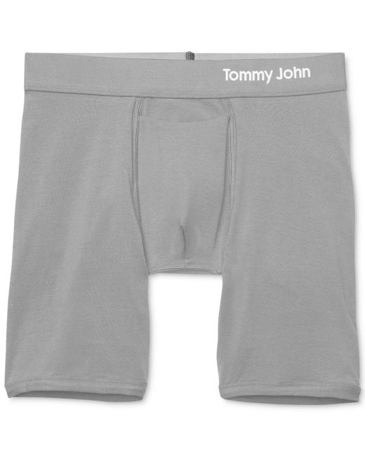 Tommy John - Gray Cool Boxer Briefs for Men - Lyst