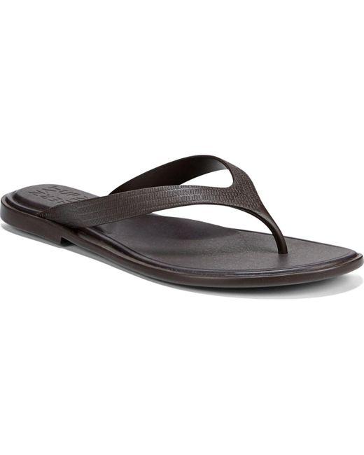 Naturalizer Brown Jemm Thong Sandals True Colors
