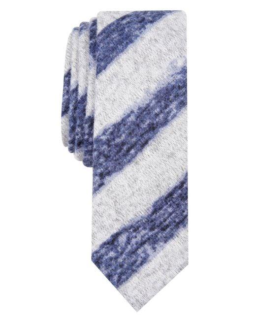 Original Penguin - Blue Augelle Skinny Stripe Tie for Men - Lyst