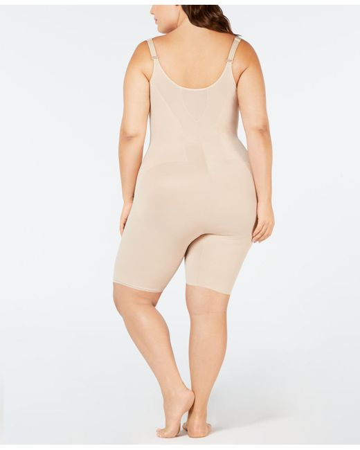 c1371b6453 ... Miraclesuit - Natural Plus Size Flexible Fit Extra-firm Singlette 2931  - Lyst