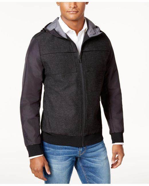 Vince Camuto | Multicolor Men's Slim-fit Hooded Windbreaker for Men | Lyst