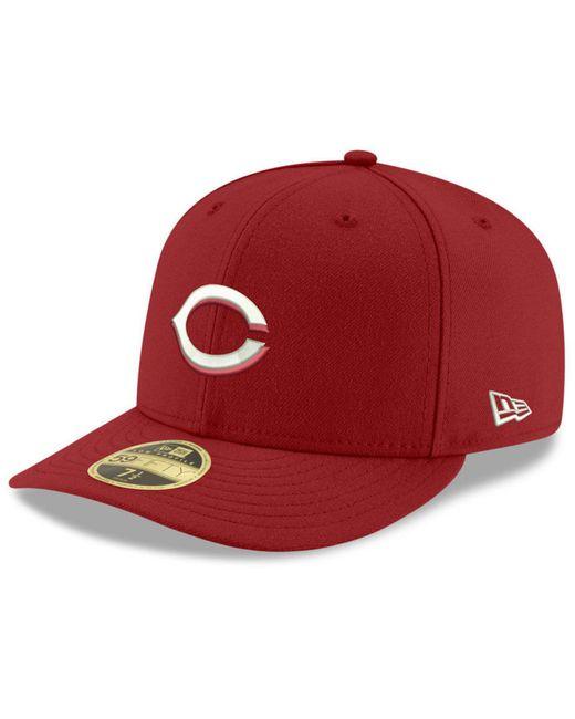 KTZ | Red Low Profile C-dub 59fifty Cap for Men | Lyst
