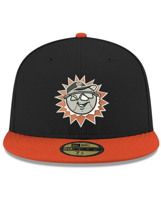new arrival 7a598 5012a ... KTZ - Black Hagerstown Suns 2001 Capsule 59fifty Fitted Cap for Men -  Lyst ...