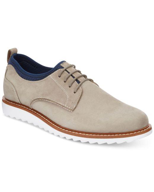 G.H.BASS - Gray Men's Buck 2.0 Plain-toe Oxfords for Men - Lyst
