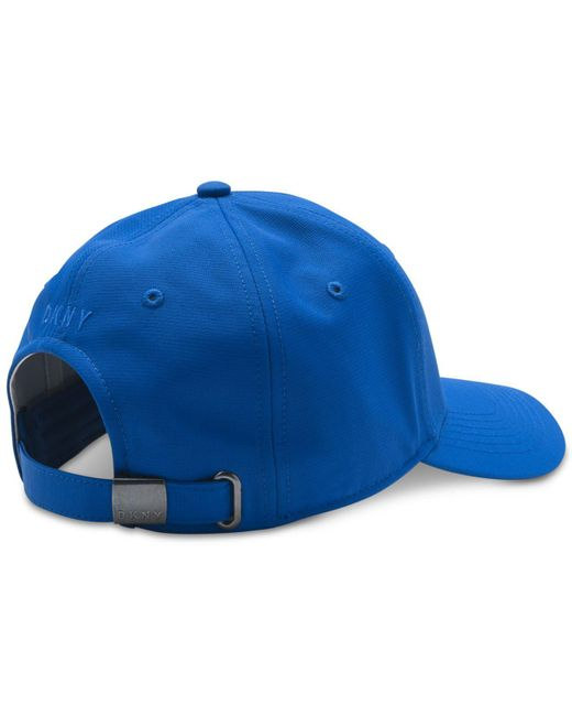 ... DKNY - Blue Token Embroidered-logo Hat a632f6895105