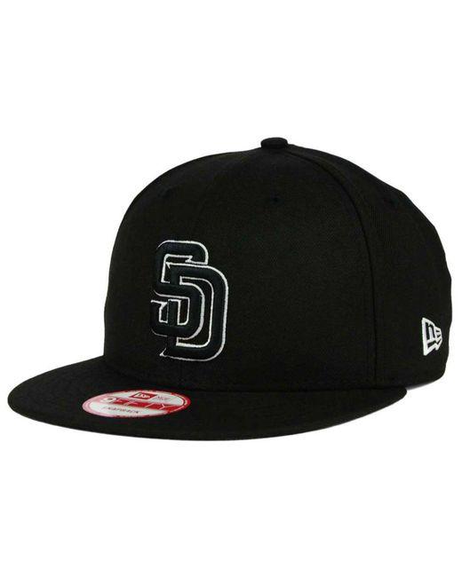 KTZ - Black San Diego Padres B-dub 9fifty Snapback Cap for Men - Lyst