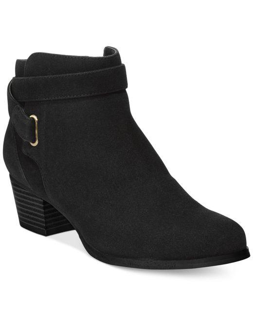 Giani Bernini | Black Oleesia Booties, Only At Macy's | Lyst