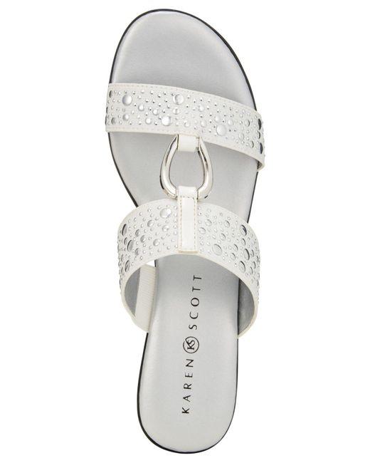 f1fb02045d428 Women's White Eanna Sandals, Created For Macy's