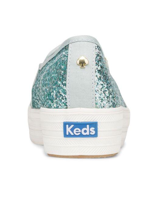 light blue kate spade keds