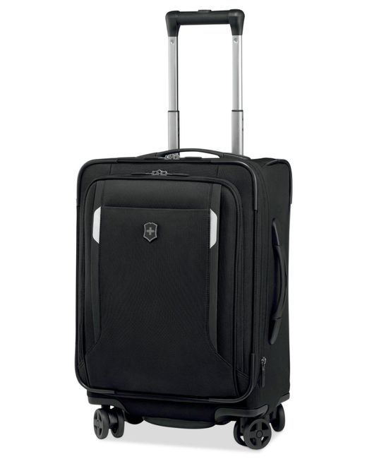 "Victorinox - Black Werks Traveler 5.0 20"" Carry-on Dual Caster Spinner Suitcase for Men - Lyst"