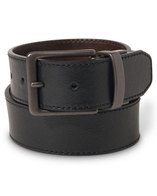 Levi's - Black 38mm Reversible Stitched Leather Belt for Men - Lyst