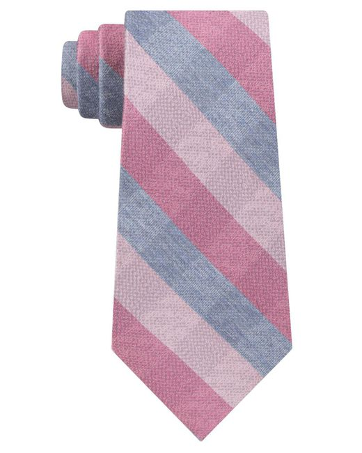 Kenneth Cole Reaction - Pink Vintage Check Tie for Men - Lyst