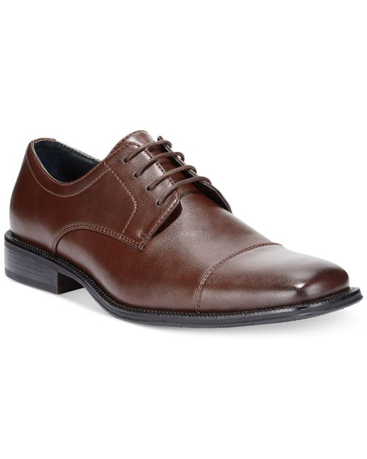 Alfani | Brown Men's Shoes, Adam Oxfords for Men | Lyst