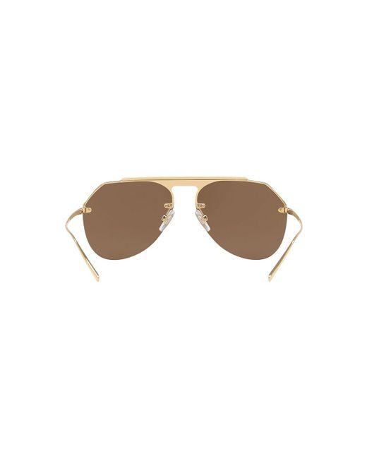 6af40d9047a ... Lyst Dolce   Gabbana - Brown Sunglasses
