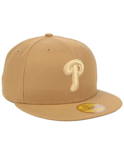 huge selection of c35d1 a24d1 ... KTZ - Natural Philadelphia Phillies Fall Prism Pack 59fifty-fitted Cap  for Men - Lyst ...