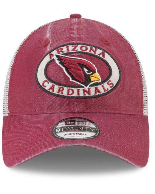 eaf99e28e ... KTZ - Multicolor Arizona Cardinals Patched Pride 9twenty Cap - Lyst ...