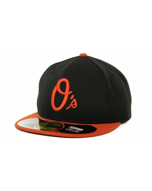 KTZ - Black Baltimore Orioles Authentic Collection 59fifty Hat for Men - Lyst