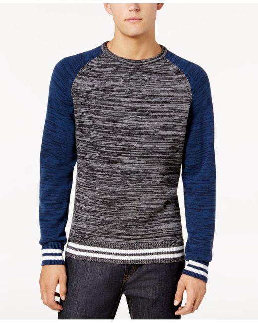 American Rag | Blue Men's Varsity Sweater for Men | Lyst