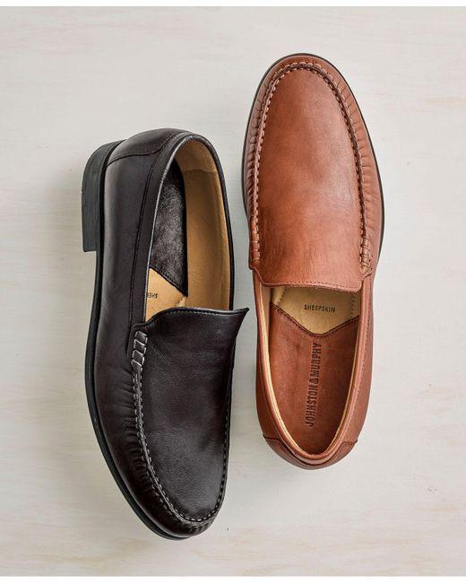 Lyst Johnston Murphy Shoes Cresswell Venetian Loafer In Black