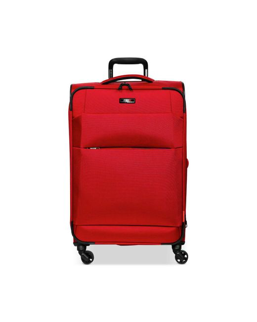 "Revo - Red Airborne 32"" Softside Expandable Spinner Suitcase - Lyst"