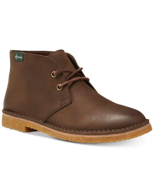 Eastland Brown Hull 1955 Leather Boots for men