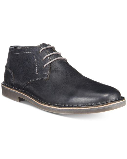Kenneth Cole Reaction - Black Desert Sun Leather Chukka Boots for Men - Lyst