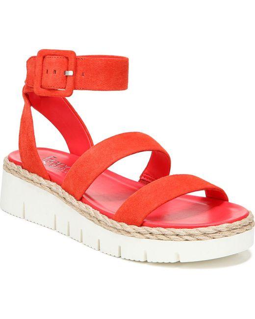 Franco Sarto Red Jackson Sport Sandals