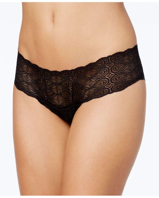 Cosabella - Black Sweet Treats Infinity Sheer Lace Hot Pants Treat0727, Online Only - Lyst