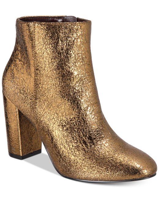 Kensie | Multicolor Leopolda Block-heel Booties | Lyst