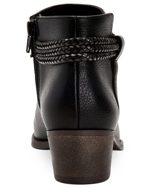 Style /& Co Womens Fellicity Closed Toe Ankle Fashion Boots