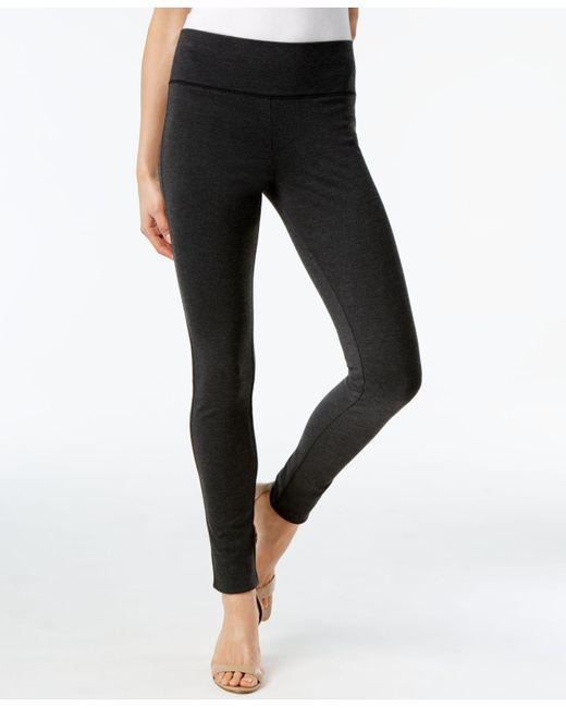 INC International Concepts - Gray Pull-on Ponte Skinny Pants - Lyst